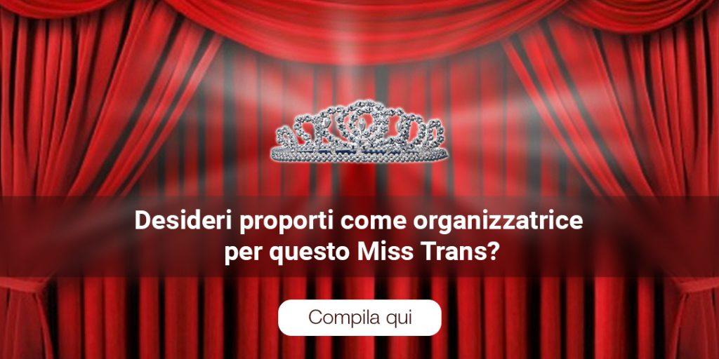 Desideri organizzare il Miss Trans Basilicata