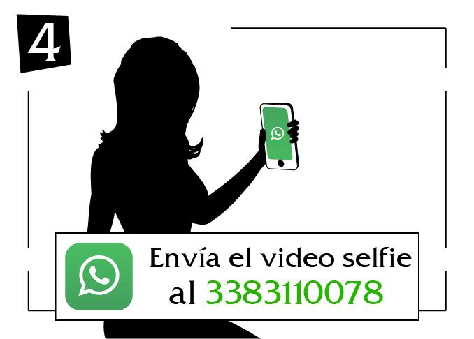 envia el video selfie Basilicata al